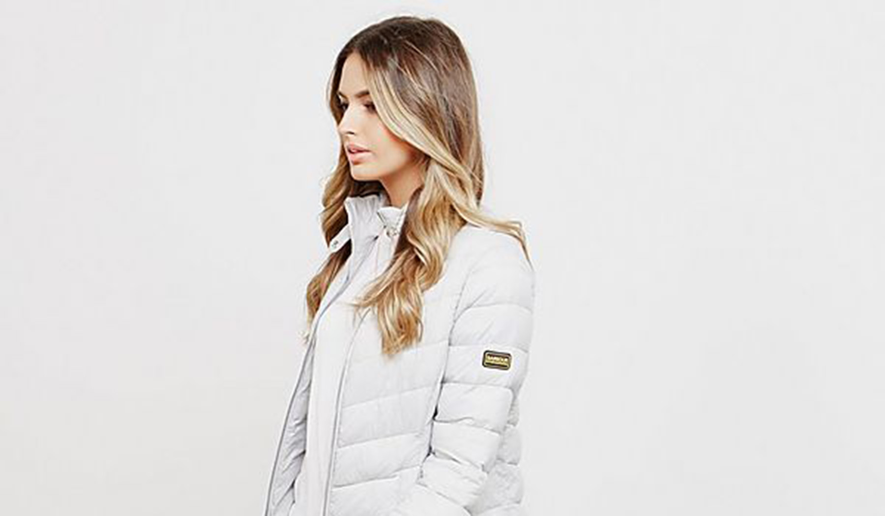 Barbour Jacket White